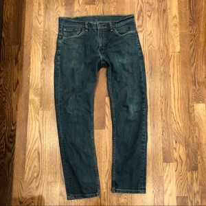Levi's Jeans 511 size 33x30 dark wash men's denim